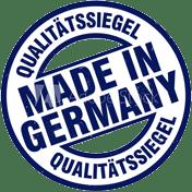 Qualitätssigel Stahldesign Klostermann
