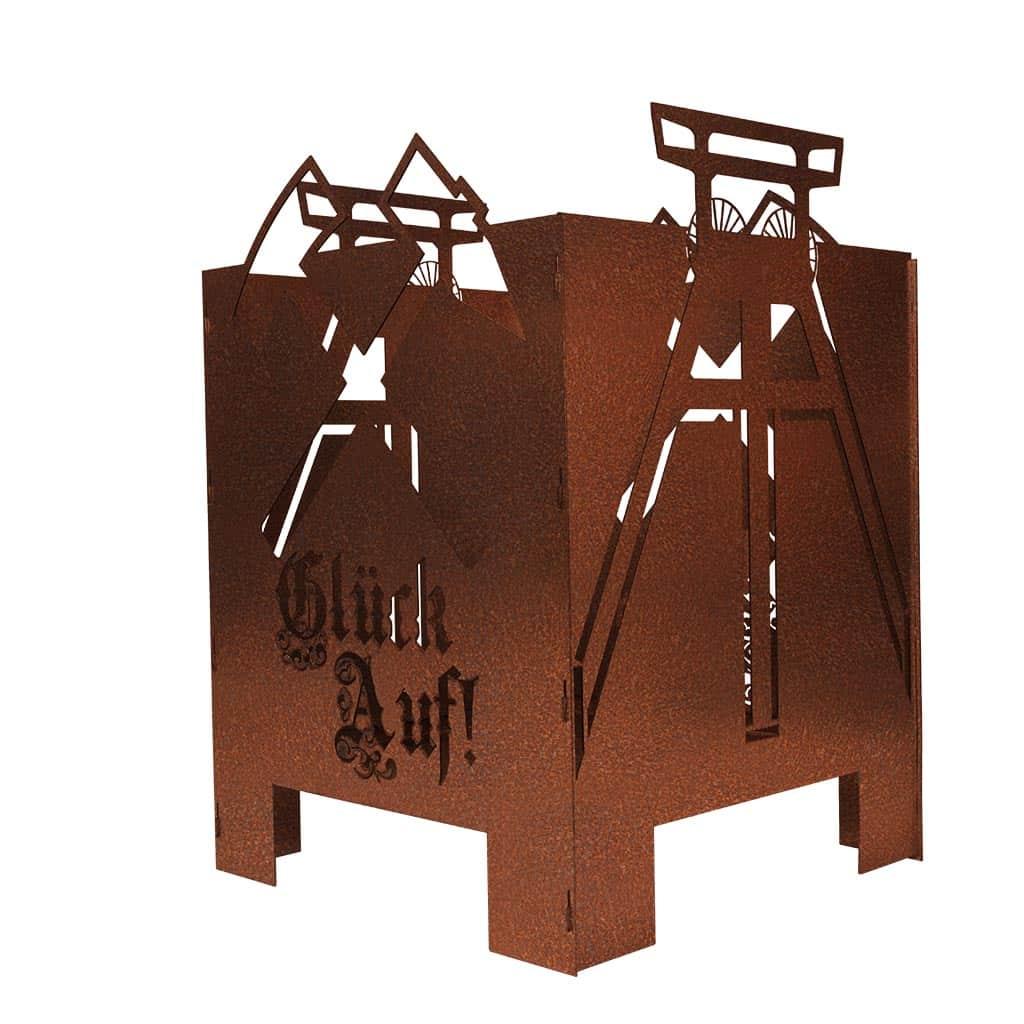 Feuerkorb-Ruhrpott Stahldesign Klostermann